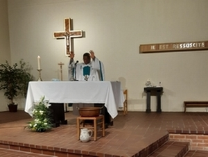 Intérieur Eglise Ste Gertrude