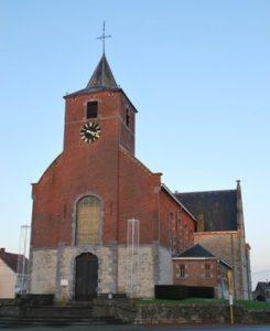 Ophain, Eglise Ste Aldegonde